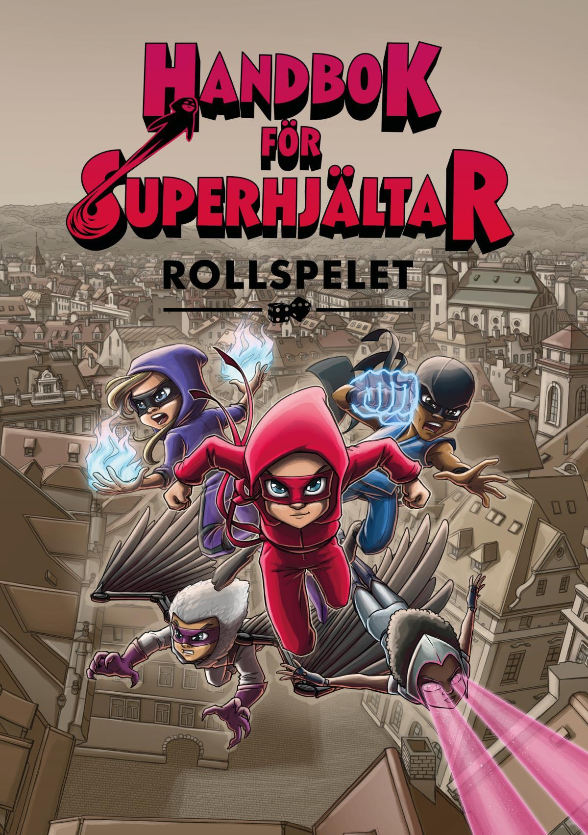 Обложка книги Handbok för Superhjältar | Rollspelet